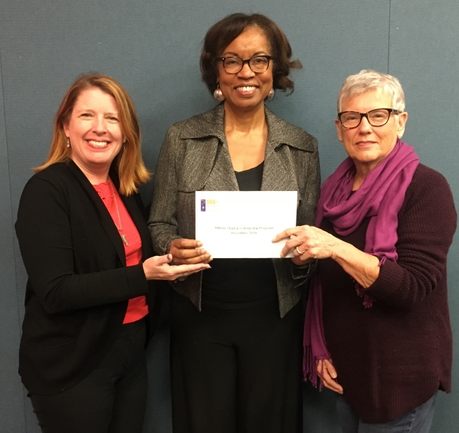 Check presentation with Sherry Clouser, Hattie Whitehead, and Jane Nute