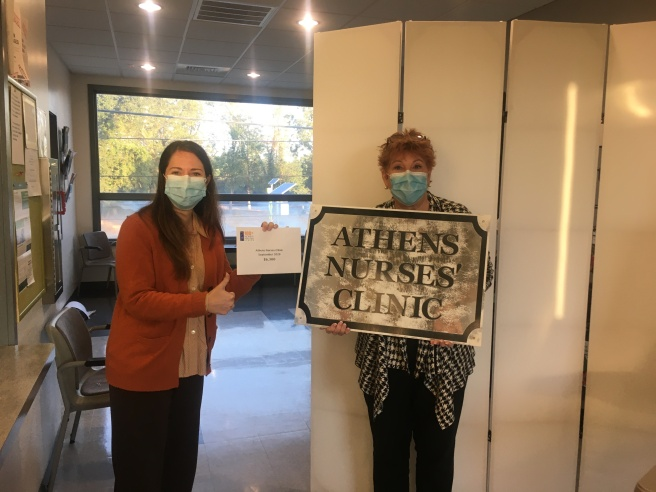 Check delivery for Athens Nurses Clinic